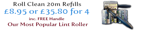Roll Clean Lint Rollers